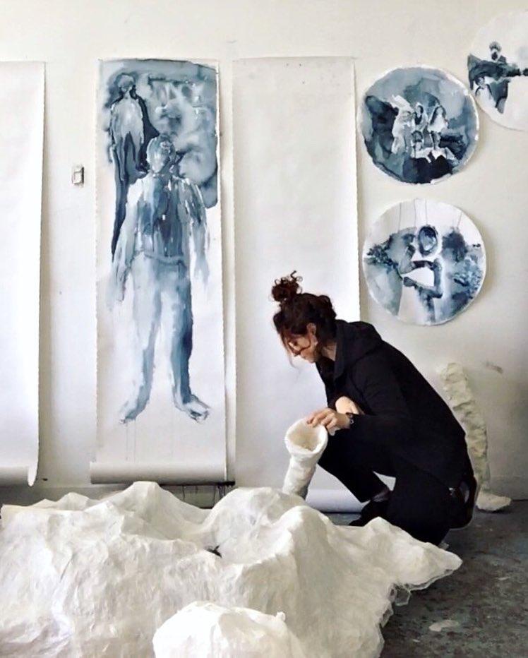 Naghmeh Sharifi au studio