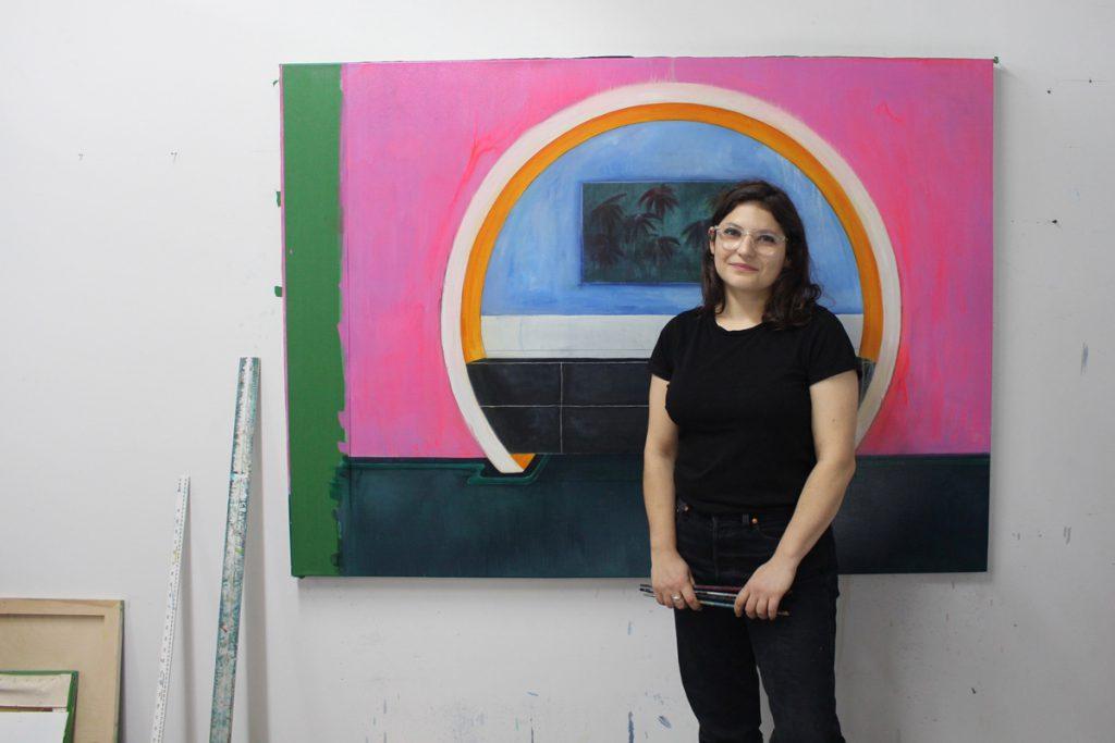 Noémie Weinstein, portrait d'atelier